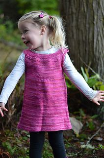 Little Miss Jane is a tunic that looks great on its own for summer and over long sleeves for winter.