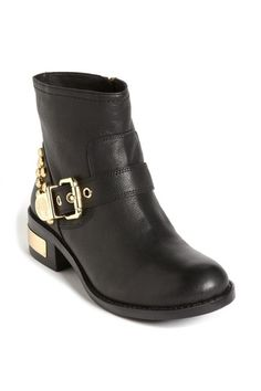 Studded Ankle Moto Boot by Vince Camuto on @HauteLook