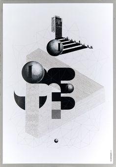 garadinervi:  Les Graphiquants, 2008 (via typo/graphic posters)