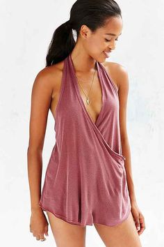 I want it in black, tucked into jeans. Truly Madly Deeply Wrap Halter Top $39