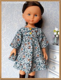Collection Printemps-Ete Sewing Doll Clothes, Sewing Dolls, Vetements Shoes, Wellie Wishers, Barbie, Doll Patterns, Fashion Dolls, Dress Up, Celebs