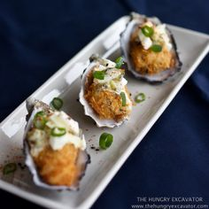 The Hungry Excavator: Kaki Fry (Deep Fried Panko Oysters) and Chawanmushi Recipe