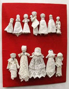 Photo from album Yarn Dolls, Fabric Dolls, Paper Dolls, Doll Crafts, Diy Doll, Cute Crafts, Handkerchief Crafts, Homemade Dolls, How To Make Toys