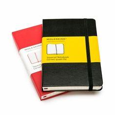 Moleskine Classic Pocket Squared Notebook (3.5 x 5.5), MoleskineUS
