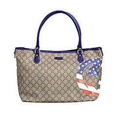8075419f86dd online shopping for Gucci Coated Canvas Flag Handbag Tote Bag 203693 from  top store. See new offer for Gucci Coated Canvas Flag Handbag Tote Bag  203693