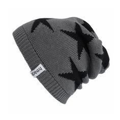 Hat Stars Black