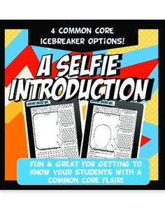 A Selfie Introduction Fun Back to School Icebreaker Common