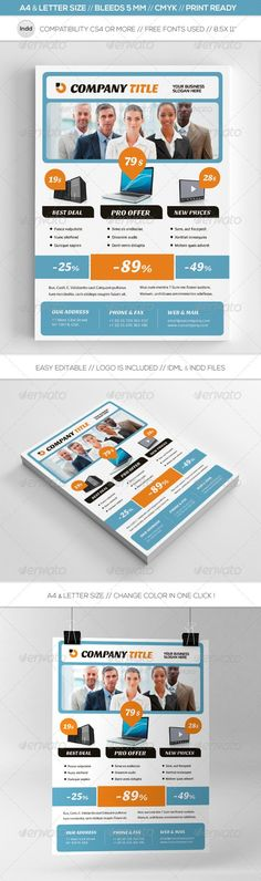 Business Promotion Video Surveillance Flyer Template graphic