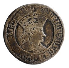 Henry VII 'testoon' or shilling - 16th century. One of the first English coins to bear a real portrait of the monarch instead of the representative portrait which had served for the previous ten centuries; and it was for this reason that it derived its name of testoon from the Italian Testone or Headpiece introduced in Milan in 1474.