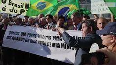 Portal Galdinosaqua: Dep protestam contra a nomeação de Lula no Planalto..