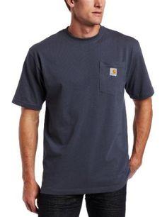 Carhartt Men's Big Workwear Pocket T-Shirt, Bluestone, 3X-Large-BIG Carhartt. $9.95