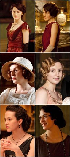Old World vs. New World. Downton's progression from 1912 to the Roaring 20's. Follow rickysturn/downton-abbey