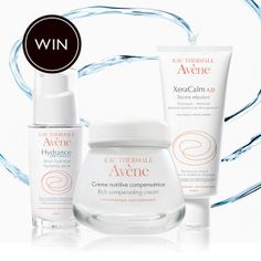 WIN £200 of Avène products PLUS a Skype consultation with a skin expert to help find which products suit you best.Click on the image above to enter.