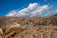 In het binnenland van Kreta op de hoogte van Agia Marina.