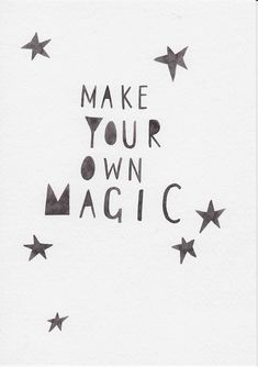 Scandi Nursery Wall Art, Minimalist Nursery, Nordic Kids Room Wall Art, Kids Decor, Gift For Kids and Baby, Stars Nursery Art, Magic Quote by violetandalfie on Etsy