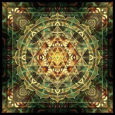 Sri Yantra Healing Mandala by Lily A. Seidel