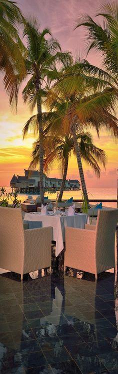 Couples Dining at the Jumeirah Vittaveli, South Male Atoll, Bolifushi Island, Maldives Dream Vacations, Vacation Spots, Vacation Destinations, Romantic Places, Beautiful Places, Paradis Tropical, Maldives Resort, Maldives Beach, Exotic Places