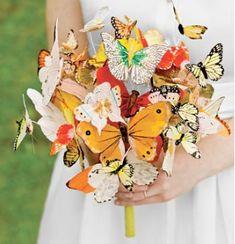 Unusual Wedding Bouquets for Alternative Brides.