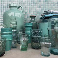 Ton sur ton geshopt..! #shoppen#styling#loods5#blue#aqua#blauw#blauwtinten#petrol#ocean#mint#pottery#glass#interior#interieur#interiorstyling#interieurinspiratie#accessories