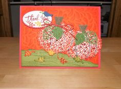Celebrate Fall with Stampin' Up! Thoughtful Branches