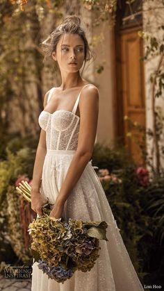 lihi hod fall 2020 bridal sleeveless straps sweetheart neckline sheer bodice fully embellished lace a line ball gown wedding dress chapel train 1 zv - Lihi Hod Fall 2020 Wedding Dresses Wedding Inspirasi White Blossom Lihi Hod Fall Winter 422019 2020 Sleek Wedding Dress, Fairy Wedding Dress, Fall Wedding Dresses, Bridal Dresses, Wedding Gowns, Trendy Wedding, Wedding White, Lace Wedding, Modest Wedding