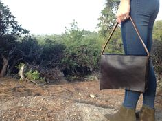 Hand made Leather purse FREE SHIPPING by kingstreetcollars on Etsy, $85.00
