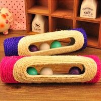 Wish | Cat Pet Toy Roller Grounder Wearable Scratching Post