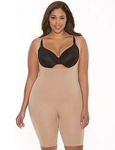 323328da99 Plus Size Open Bust Bodysuit by Shape by Cacique