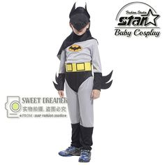 18.69$  Buy now - New Arrival Kids Deluxe Muscle Dark Knight Batman Child Halloween Party Fancy Suit Set Boys Superhero Carnival Costume   #buychinaproducts