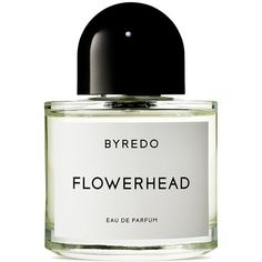 Byredo Flowerhead Eau de Parfum (€185) ❤ liked on Polyvore featuring beauty products, fragrance, beauty, byredo, flower fragrance, flower perfume, blossom perfume and edp perfume