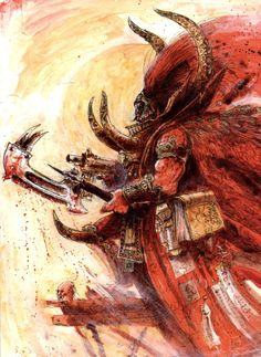 The shit husbando of the day:Magnus the Red from Warhammer Magnus The Red, Sisters Of Silence, Thousand Sons, Deathwatch, Rp Ideas, Warhammer 40k Art, Space Wolves, Thought Of The Day, Space Marine