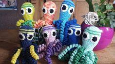 Deze inktvisjes zijn gemaakt door Ingrid Baten.