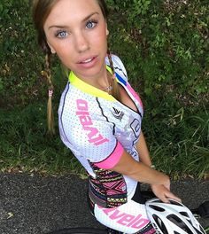 JLVelo Women's White Global Cycling Jersey and bib made in the USA with premium fabrics!