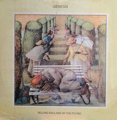 Genesis - Selling England By The Pound (Vinyl, LP, Album) at Discogs