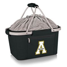 Metro Basket - Black (Appalachian State - Mountaineers) Embroidered