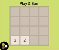 Play your favorite 2048 game and earn a honey dollar. Sign up now!
