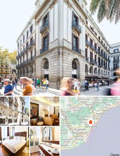 The hotel is conveniently situated just a 5-minute walk from Las Ramblas in Barcelona. Nearby attractions include the Boquería Market, the cathedral, the Palau Güell, Santa María del Mar, the Picasso Museum and the Port of Barcelona. Barcelona El Prat International Airport is just 18 km away.
