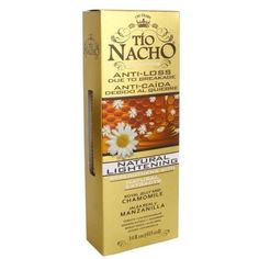 Tio Nacho All Day Volume Natural Lightening Shampoo, 14 Ounce: Cacahuananche: nourishes hair. Nachos, Tio Nacho, Oily Hair, Hair Shampoo, Hair Conditioner, Treat Yourself, Hair Loss, Natural