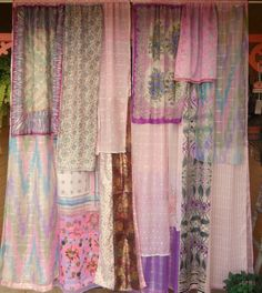 IN YOUR DREAMS - Bohemian Gypsy Curtains Handmade by Babylon Sisters. on Etsy, Sold