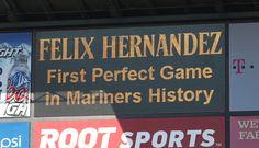 #Mariners #KingFelix #Perfecto