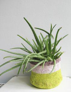 Crochet basket by Pompomdesign