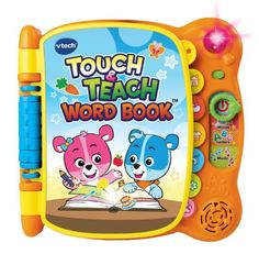Touch & Teach Word Book Discover the magic of words with the Touch & Teach Word Book by VTech. Cody The Smart Cub and Cora The Smart Cub teach letters and more than 100 words in four diff...