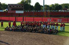SVSU Softball & Baseball help out at Community Youth Day