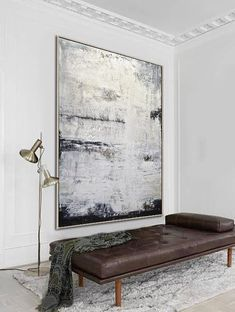 The Spectator Abstract Large 40 x 60 Painting Gray White Abstract Art ABSTRACT Abstract Art Painting Gray Large Painting Spectator White Kevin Hill Paintings, Art Paintings, Acrylic Paintings, Contemporary Abstract Art, Modern Art, Deco Paris, Horse Oil Painting, Abstract Canvas, Painting Abstract