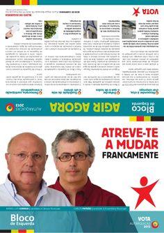 Campanha eleitoral Autarquias 2013. Vila Franca de Xira. Bloco de Esquerda