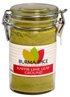 Ground Kaffir Lime Leaves in Glass Spice Preserve Bottle, 2.2 oz -- Insider's special review that you can't miss. Read more :  : Fresh Groceries