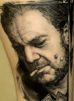Holy crapola, Andy Engel's photorealistic tattoos are... exactly that.