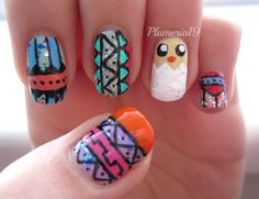 Easter-tribal chick