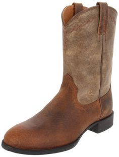 Ariat Men's Heritage Roper Pull-on Boot,Earth/Brown Bomber,7 M US Ariat, http://www.amazon.com/dp/B005M8ELNM/ref=cm_sw_r_pi_dp_H3Xhrb0EV5EF2
