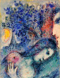 dionyssos: Marc Chagall Lovers